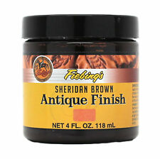 Fiebing's Antique Finish Sheridan Brown Paste 4 oz 21980-09 Leather Dye Stain