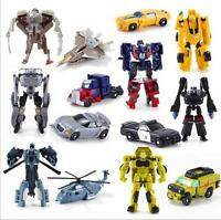 Kids Transformers Robot Car Action Figures Classic Custom Toys Child Boys XMAS