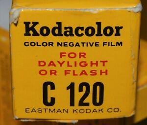 VINTAGE 1 KODAK KODACOLOR COLOR NEGATIVE FILM for COLOR PRINTS C 120 EXP 1964