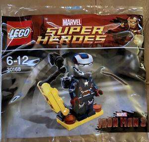 Lego 30168 Iron Man 3 Patriot Marvel Superheroes New Sealed Polybag Mini 2013