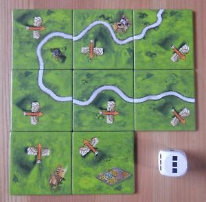 Carcassonne – Flying Machines | Flier | Mini Expansion | New | English Rules