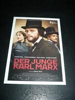 THE YOUNG KARL MARX, film card [August Diehl, Stefan Konarske, Vicky Krieps]