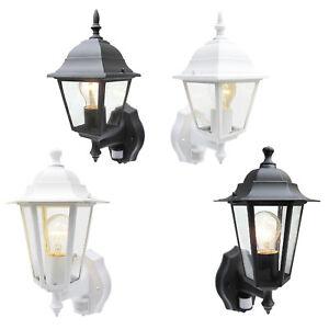 External Security PIR Sensor Wall Coach Lantern or LED Energy Saving Light Bulb