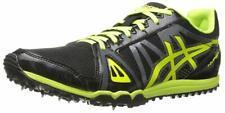 ASICS Men's Hyper XC Track Spike, Black/Flash Yellow/Carbon, 13 D(M) US