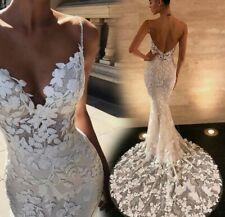 Brautkleid Neu aus Spitze in den Größen 32-42