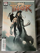 King Thor #1 - 2nd Print - 1st cover of Gorr the God Butcher - Marvel 2019 Ribic