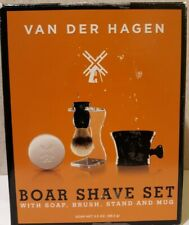 Van Der Hagen Boar Shave Set (No Stand Included) * Open Box *