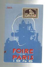 1946 Paris France Air Show Postcard Cover # B102