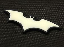 The Dark Knight Batman 3D PVC Glow In The Dark GITD SWAT Rubber Patch VELCRO®