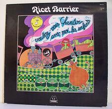 """33T Ricet BARRIER Disque LP 12"""" LES ZYGOMATIQUES - CHANTER LES ENFANTS MRecord"""