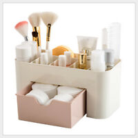 Women Makeup Case Storage Organizer Box With Drawer Cosmetic Holder Perfume Box