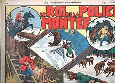 Les Aventuriers d'Aujourd'hui n°3. Roi de la Police montée - Juin 1938