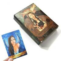 Angels And Ancestors Board Game Tarot Oracle Cards: A 55-Card Deck Home Party US