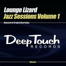 Vol. 1-Jazz Sessions - Lounge Lizard (2013, CD NIEUW) CD-R