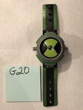 Ben 10 Ten Tennyson Omnitrix Illuminator Projector Watch 2008 Bandai! G20