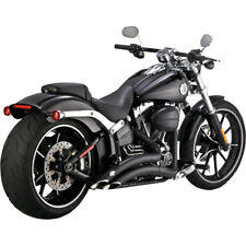 Vance & Hines Black Big Radius Exhaust for 2013-2017 Harley Softail Breakout