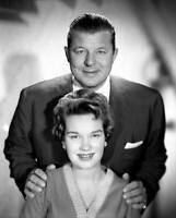OLD CBS RADIO TV PHOTO The Jack Carson Show with Jack Carson And Sue Raney 1