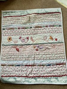 BABY'S CRIB QUILT OR PLAYMAT FROM MAMAS & PAPAS