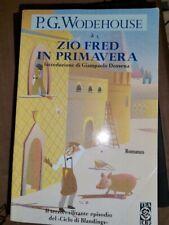 Libro romanzo Zio Fred in primavera - P.G. Wodehouse - Tea Due -   C10