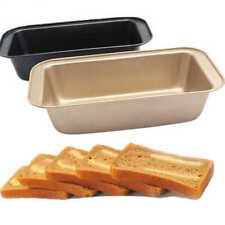 Rectangle Bread Cake Mold Non Stick Carbon Steel Loaf Baking Pan Bakeware