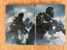 Call of duty Ghosts STEELBOOK G1 New No Game XBOX 360