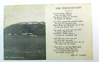 1908 Quebec Tercentenary Postcard Plains Abraham Fort St Lawrence John Campbell