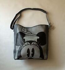 BNWT Walt Disney Parks Sailor Minnie Mouse Gray Tote Purse /  Bag