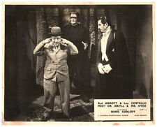 Abbott & Costello Meet Dr Jekyll  Hyde Original Lobby Card Frankenstein Dracula
