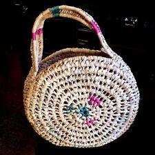 MAROC ➤ Sac en paille tressée MAROKKO Geweven stro zak MOROCCO Woven straw bag