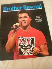 Brother Beyond - The British Boy band/pop group's brochure -Includes Poster