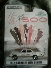 Greenlight 1972 Oldsmobile Vista Cruiser 56th Indy 500 Pace Car 1/64 .