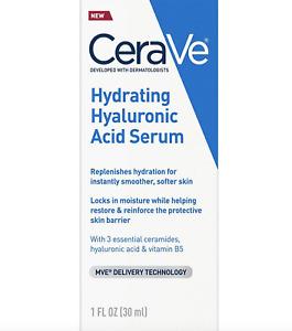 CeraVe Hydrating Hyaluronic Acid Serum-MVE Delivery Technology 1 fl. oz.