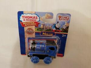 Thomas The Tank & Friends WOOD MILLIE WOODEN TRAIN NEW IN BOX TARNISH ON MAGNETS