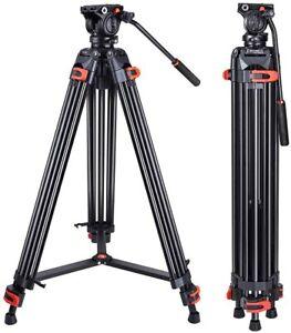 Heavy Duty Tripod Professional Aluminium Video Tripods For DV Camcorder Cameras