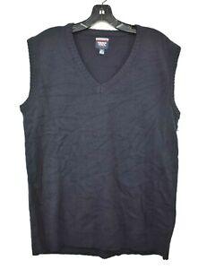 French Toast Boys Navy Sleeveless V-Neck Official School Wear Sweater Vest 20H