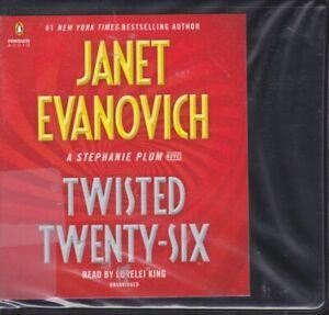 TWISTED TWENTY-SIX by JANET EVANOVICH ~UNABRIDGED CD AUDIOBOOK