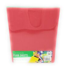 "Foamies - Darice- Foam Sheets peel & stick 6 primary sheets - 8.8"" x 11.8"""