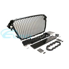 Audi RS4 Style Grille for A4 / S4 B8 Facelift Gloss Black Finish
