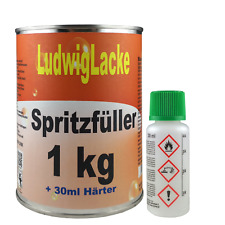 2K Grundierung 1 kg Spritzfüller Autolack Lackierer Profi Qualität Ludwiglacke