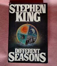 """Different Seasons"" by Stephen King 1st Edition 1st US Print 1982 HC DJ"