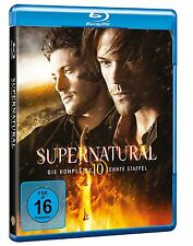 Supernatural - Staffel 10 [Blu-ray] Jared Padalecki Neu!