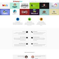 Premium Online Logo Graphic Design Reseller Business Website