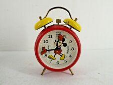 More details for vintage mickey mouse bradley wind up alarm clock j12