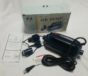 Greatland Outdoors 120 Volt Hand Held Air Pump w/ 3 Tips  Lightweight Portable