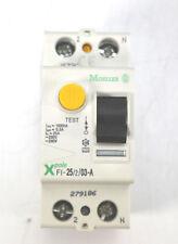 Moeller Fehlerstromschutzschalter   25A   2pol.   A-Type   FI-25/2/03-A   279186