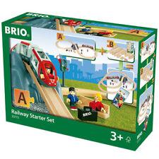 Brio 33773 railway starter set pack un pour bois train set
