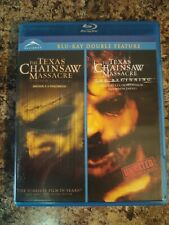 Texas chainsaw massacre / The Beginning Blu Ray  Alliance Double Feature 2011