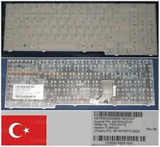 CLAVIER QWERTY TURQUE PackardBell Easy Note SB85 MINOS GP MP-03756TQ-9205 Blanc