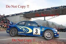 Richard Burns Subaru Impreza WRC2000 Catalunya Rally 2000 Photograph