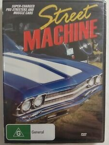 STREET MACHINE DVD Documentary Muscle Cars FREE POSTAGE